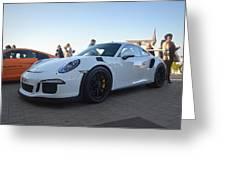Porsche 911 Gt3rs Greeting Card