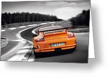 Porsche Greeting Card