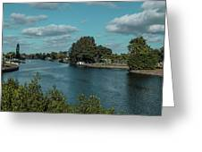 Port Charlotte From Edgewater Greeting Card