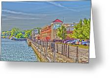 Port Of Rochester Greeting Card by William Norton