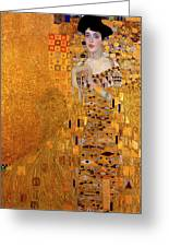 Portrait Of Adele Bloch-bauer Greeting Card