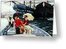 Portsmouth Dockyard Greeting Card