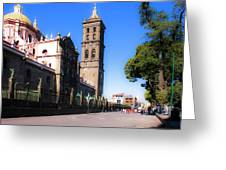 Puebla Mexico 4 Greeting Card