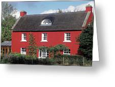 Red House In Northern Ireland Greeting Card