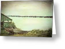 Reelfoot Lake Fishing Greeting Card