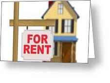 Rental Apartment Greeting Card