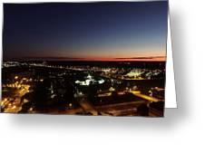 Richmond Sunset Greeting Card