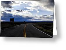 Road 2 Greeting Card