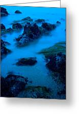 Rock Formations On The Coast, Central Greeting Card