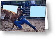 Rodeo In Kissimmee Greeting Card