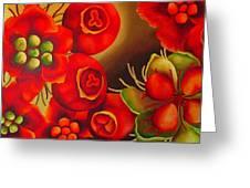 Rosehip Greeting Card