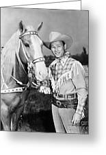 Roy Rogers Greeting Card