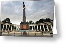 Russian Liberation Monument Greeting Card by Andre Goncalves