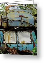 Rusted Series Greeting Card