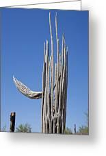 Saguaro Skeleton Greeting Card