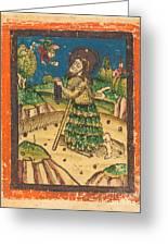 Saint Onuphrius Greeting Card
