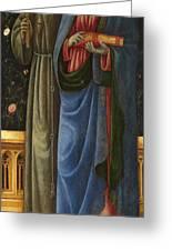 Saints Francis And Mark Greeting Card