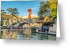 San Antonio River Walk Greeting Card
