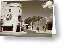Santa Fe New Mexico Greeting Card