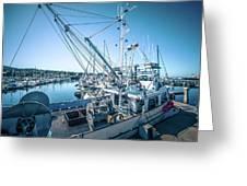 Scenery Around Monterey Bay California In Spring Greeting Card