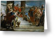 Scipio Africanus Freeing Massiva Greeting Card