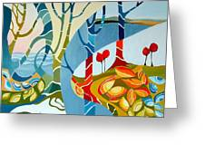 Seasons Of Creation Greeting Card by Carola Ann-Margret Forsberg