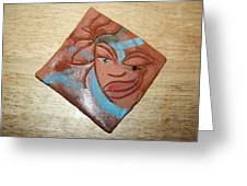 Serena - Tile Greeting Card