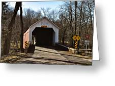 Sheards Mill Covered Bridge - Bucks County Pa Greeting Card