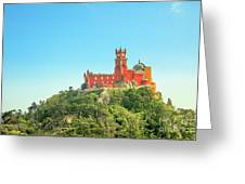 Sintra Pena Palace Greeting Card