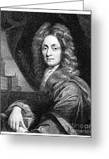 Sir Christopher Wren, Architect Greeting Card