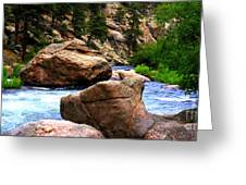 South Platte River Greeting Card
