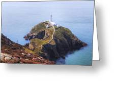 South Stack - Wales Greeting Card