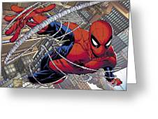 Spider-man Greeting Card