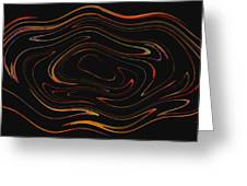 Squiggling Greeting Card