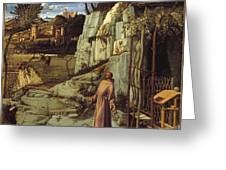 St. Francis In The Desert Greeting Card