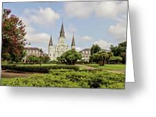 St. Louis Cathedral - Hdr Greeting Card