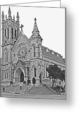 St. Mary Cathedral Greeting Card