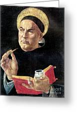 St. Thomas Aquinas Greeting Card