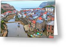 Staithes - England Greeting Card
