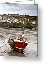 Staithes, North Yorkshire, England Greeting Card