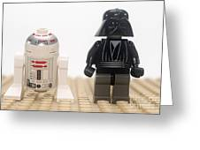 Star Wars Action Figure  Greeting Card