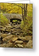 Stone Bridge 6063 Greeting Card