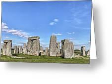 Stonehenge - England Greeting Card