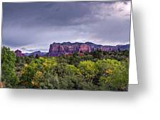 Storm Over Sedona  Greeting Card