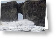 Storm Rock Greeting Card
