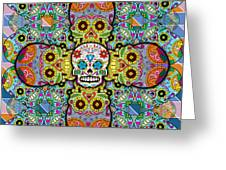 Sugar Skulls Greeting Card