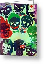 Suicide Squad 2016 Greeting Card