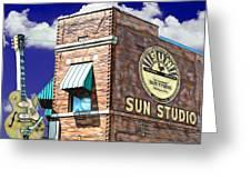 Sun Studio Collection Greeting Card