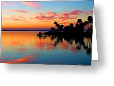 Sunrise / Sunset / Indian River Greeting Card