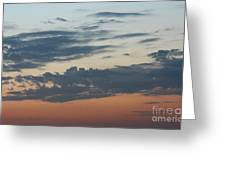 Sunset Moreno Valley Ca Greeting Card